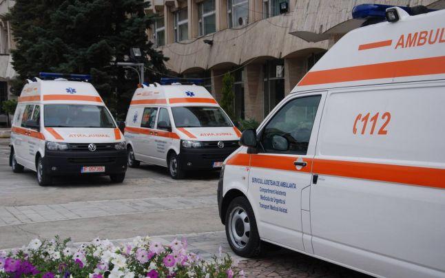 Ambulanţe achiziţionate cu finanţare prin POR 2014-2020