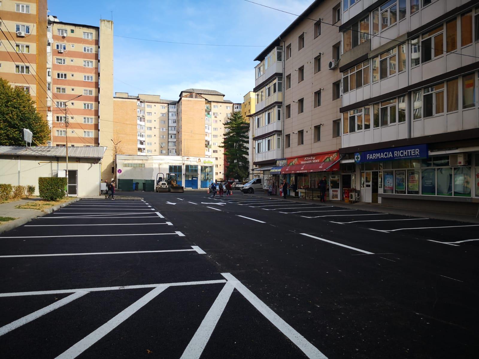 Strada Ion Ghica din Târgovişte a fost modernizată
