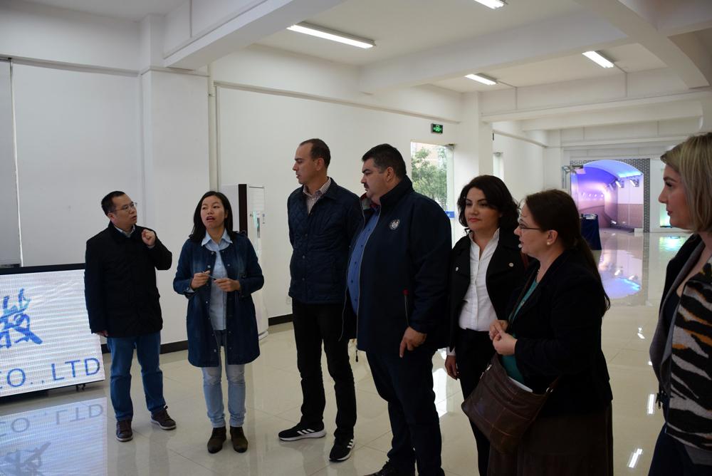 Președintele Consiliului Județean Dâmbovița, Daniel Comănescu, în vizită oficială , la Guilin, provincia Guangxi , Republica Populară Chineză