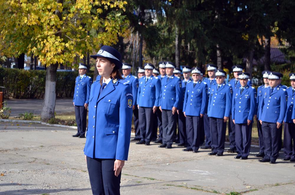 Depunerea jurământului militar de către sublocotenent Cătălina Sandu