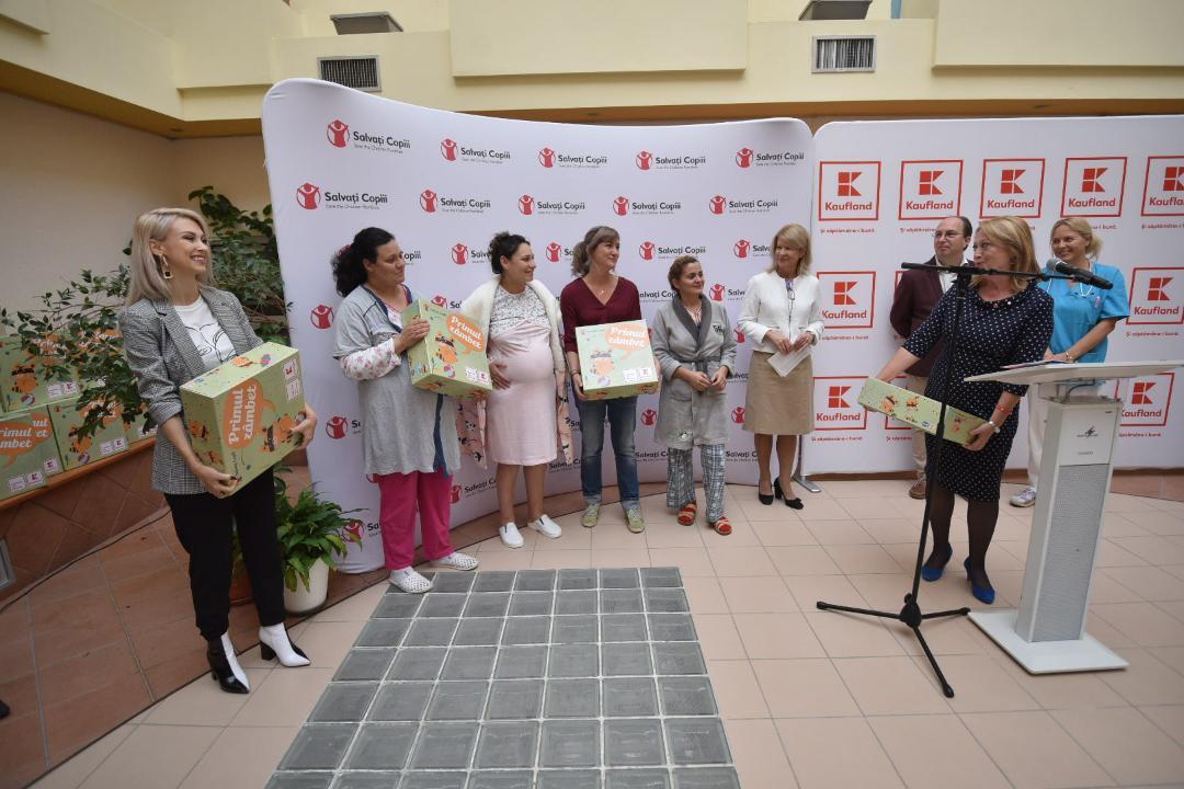 """Viitoarele mămici de la Maternitatea Târgovişte primesc gratuit cutia ,,Primul Zâmbet"""""""