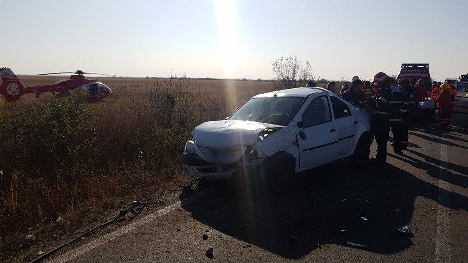 Accident mortal în comuna Corbii Mari