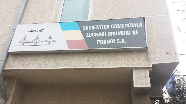ANUNȚ: S.C. Lucrări Drumuri și Poduri Dâmbovița S.A. angajează: ȘEF LABORATOR  DE ANALIZE ȘI ÎNCERCĂRI ÎN ACTIVITATEA DE CONSTRUCȚII