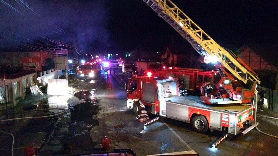 Pompierii dâmboviţeni au intervenit la 30 de solicitării în ultima săptămână