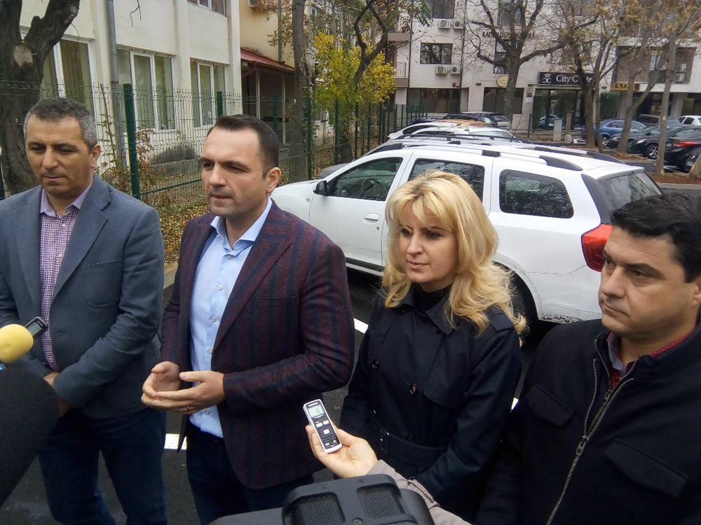 O nouă parcare în Târgovişte