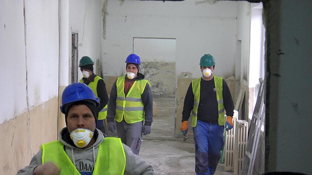 Au început lucrările de reabilitare şi modernizare la Grădiniţa  nr. 15 Târgovişte