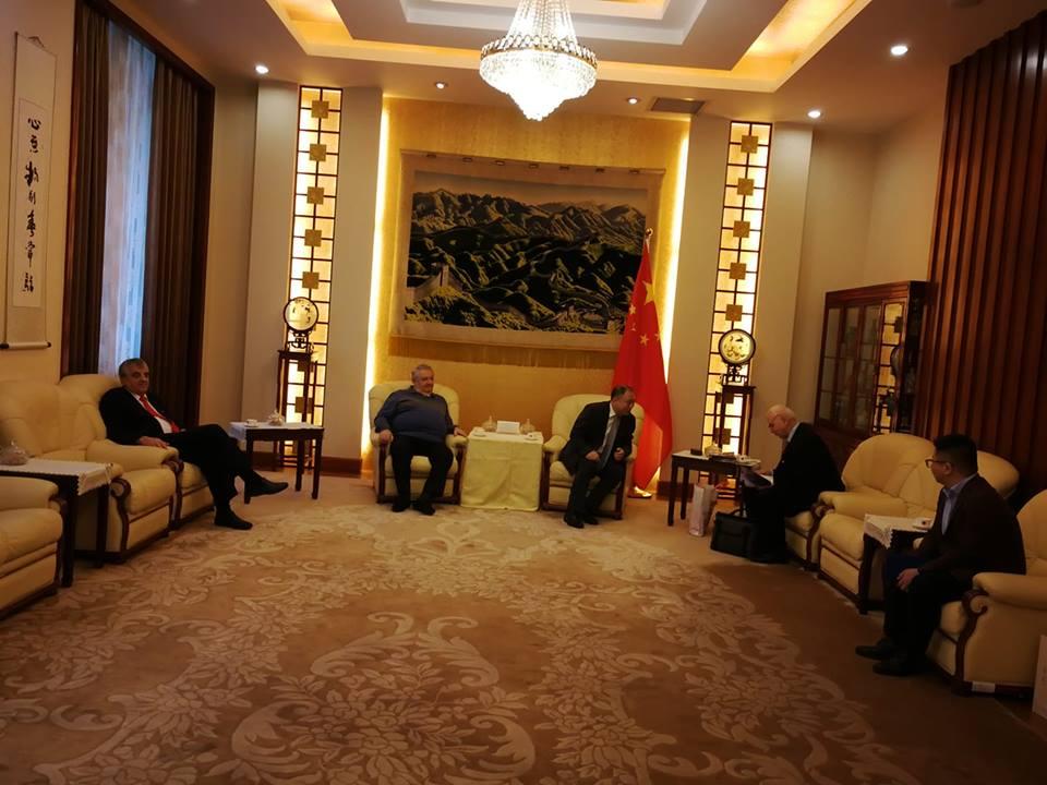 Vizita Asociaţiei de Prietenie România-China  la Ambasada Chinei în România cu ocazia Anului Nou Chinezesc