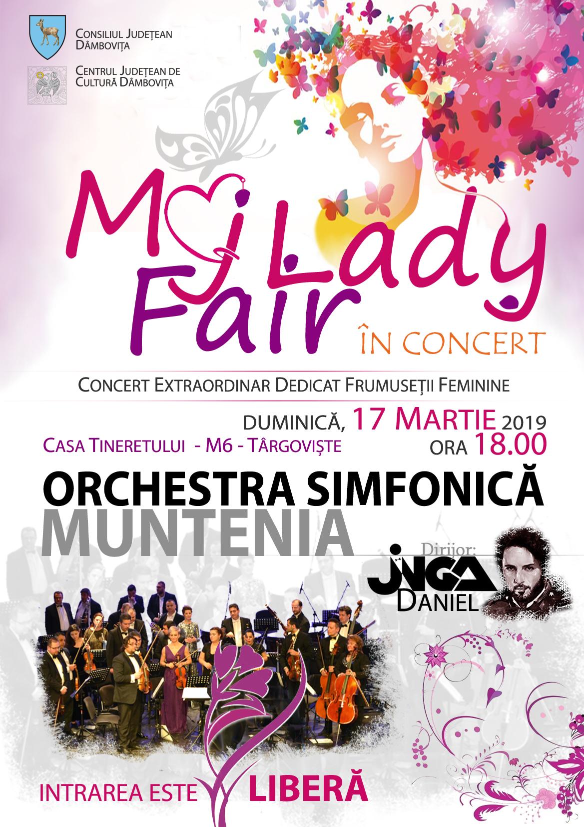 """La Casa Tineretului din Târgoviște: """"My Fair Lady în concert"""""""