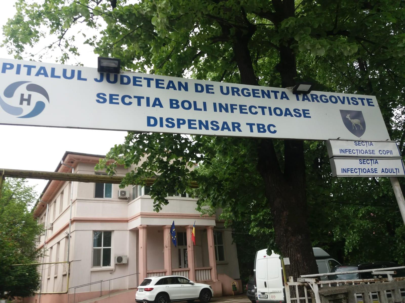 Secția Boli Infecțioase pe  lista de priorităţi  2019, a  CJ Dâmboviţa  şi conducerii Spitalului Judeţean de Urgenţă Târgovişte