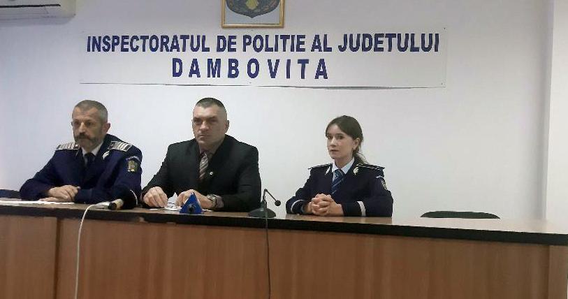 A început Săptămâna Prevenirii Criminalităţii în Dâmboviţa
