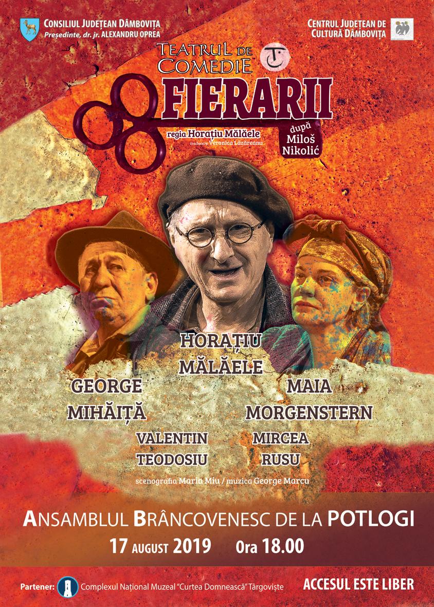 """Spectacolul """"Fierarii"""" la  Palatul Potlogi"""