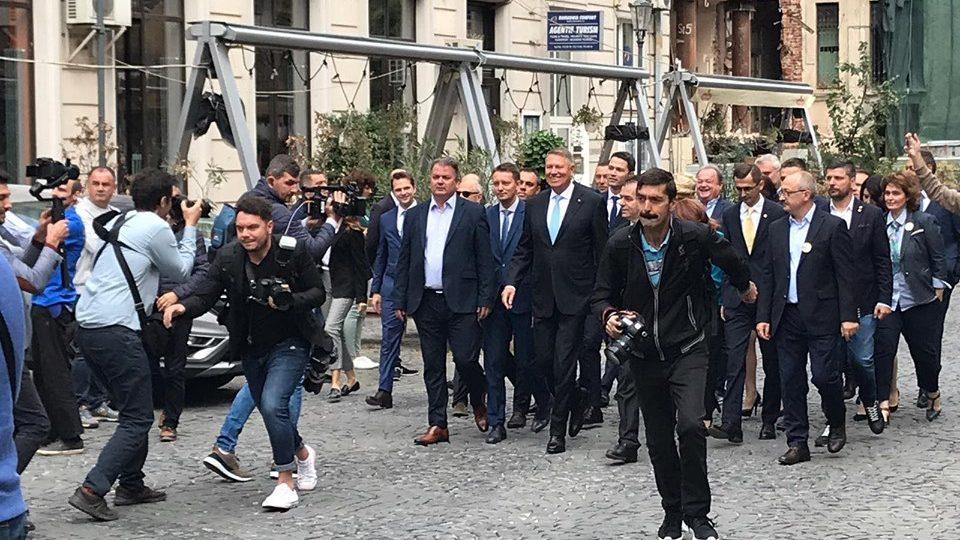 Președintele Klaus Iohannis: Îmi doresc acest al doilea mandat pentru a conduce această muncă de modernizare, europenizare, normalizare a României