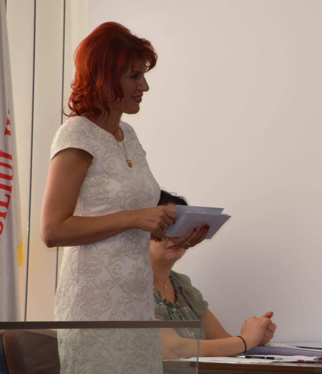 Prof. Cristina Stroe, adjunct cu acte în regulă la Inspectoratul Şcolar Judeţean Dâmboviţa, are atribuţii de general