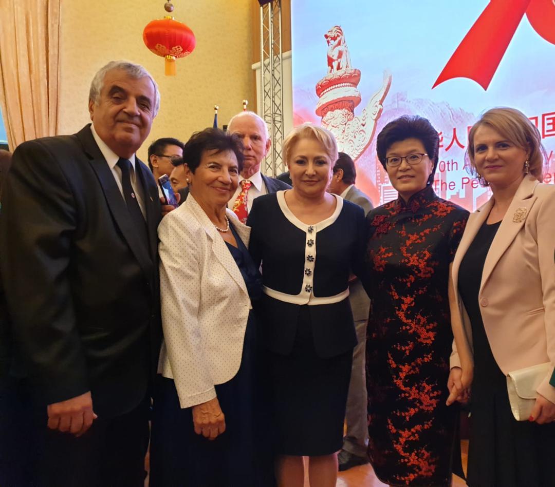 Oficiali  dâmboviţeni au participat la recepția organizată cu ocazia Zilei Republicii Populare Chineze