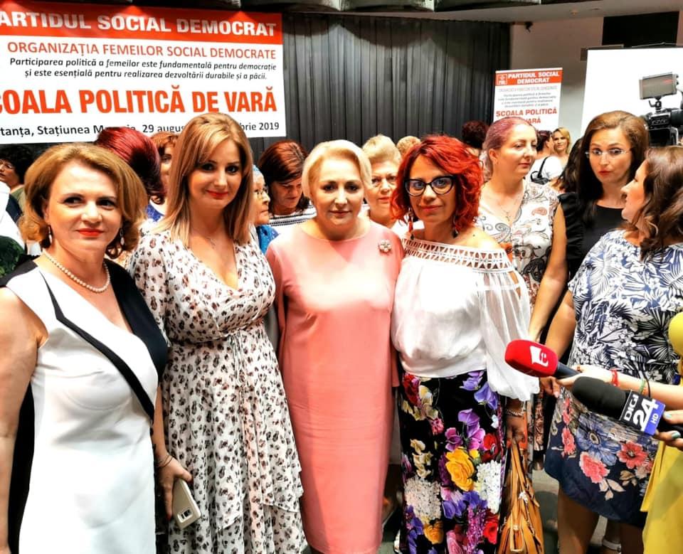 Deputatul PSD Dâmboviţa, Claudia Gilia: Femeile din PSD vor depune toate eforturile necesare pentru a da primul Președinte al României