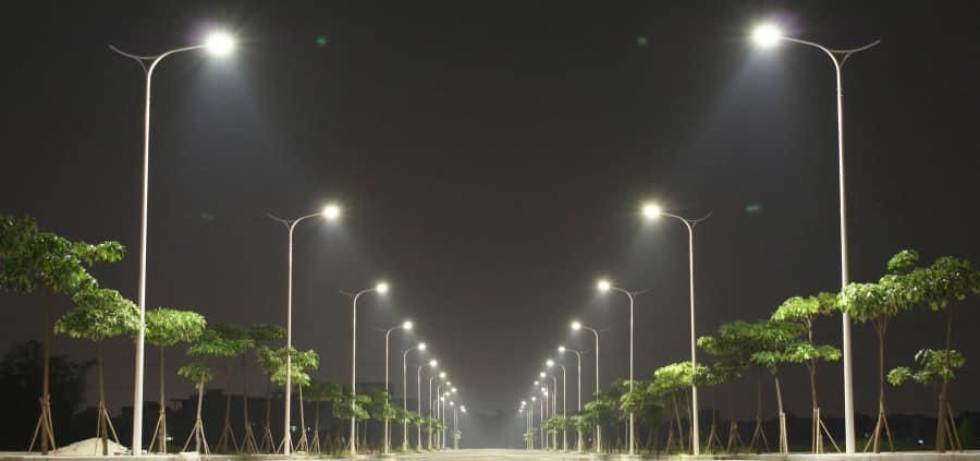 Orașul Pucioasa  face încă un pas către  standarde europene, iluminat public  cu sistem de telegestiune complet