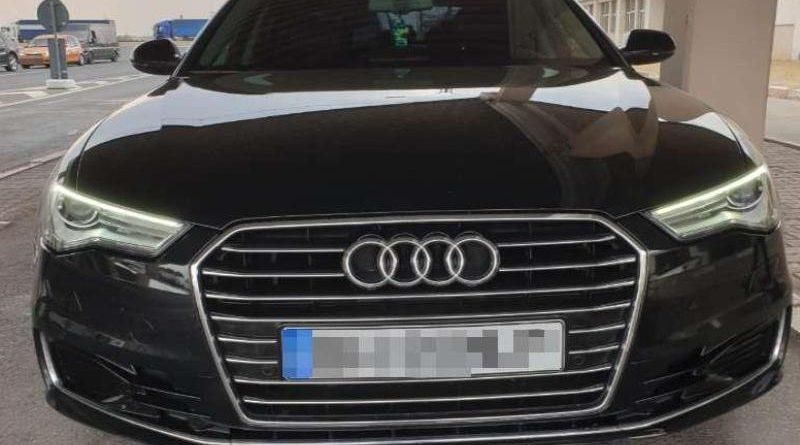 Maşină  furată din Germania,indisponibilizată de polițiștii dâmboviţeni
