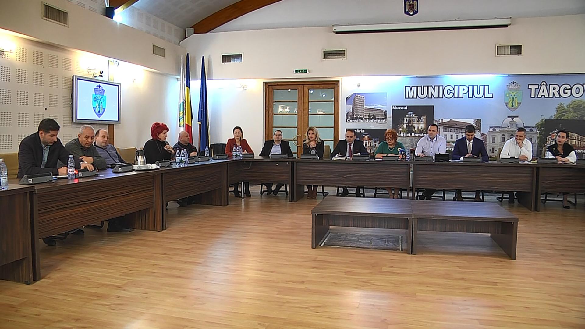 Bugetul municipiului Târgovişte  a fost aprobat în ciuda contrelor venite din partea unor consilieri ai PNL