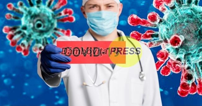 În Dâmbovița nu a fost înregistrat niciun caz de suspiciune/îmbolnăvire cu COVID-19,310 persoane izolate la domiciliu şi 38 de persoane se află în carantină
