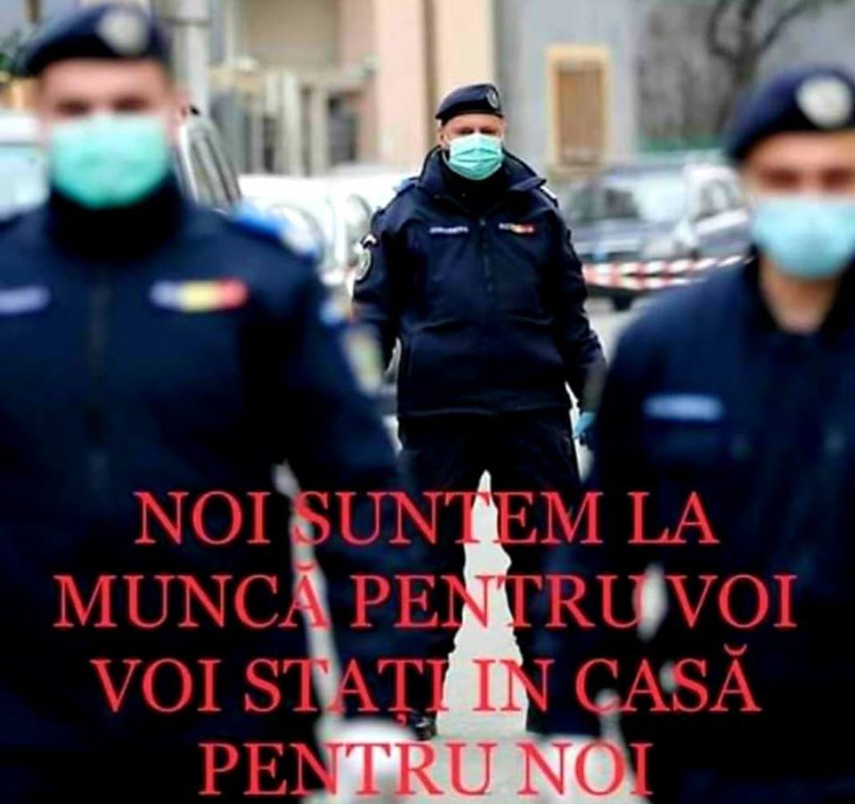 184 de patrule ale Poliției și Jandarmeriei Dâmbovița au verificat măsura de izolare la domiciliu