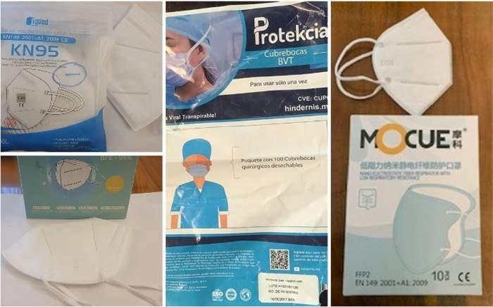 Măști de protecție pe lista produselor periculoase, comercializate în România