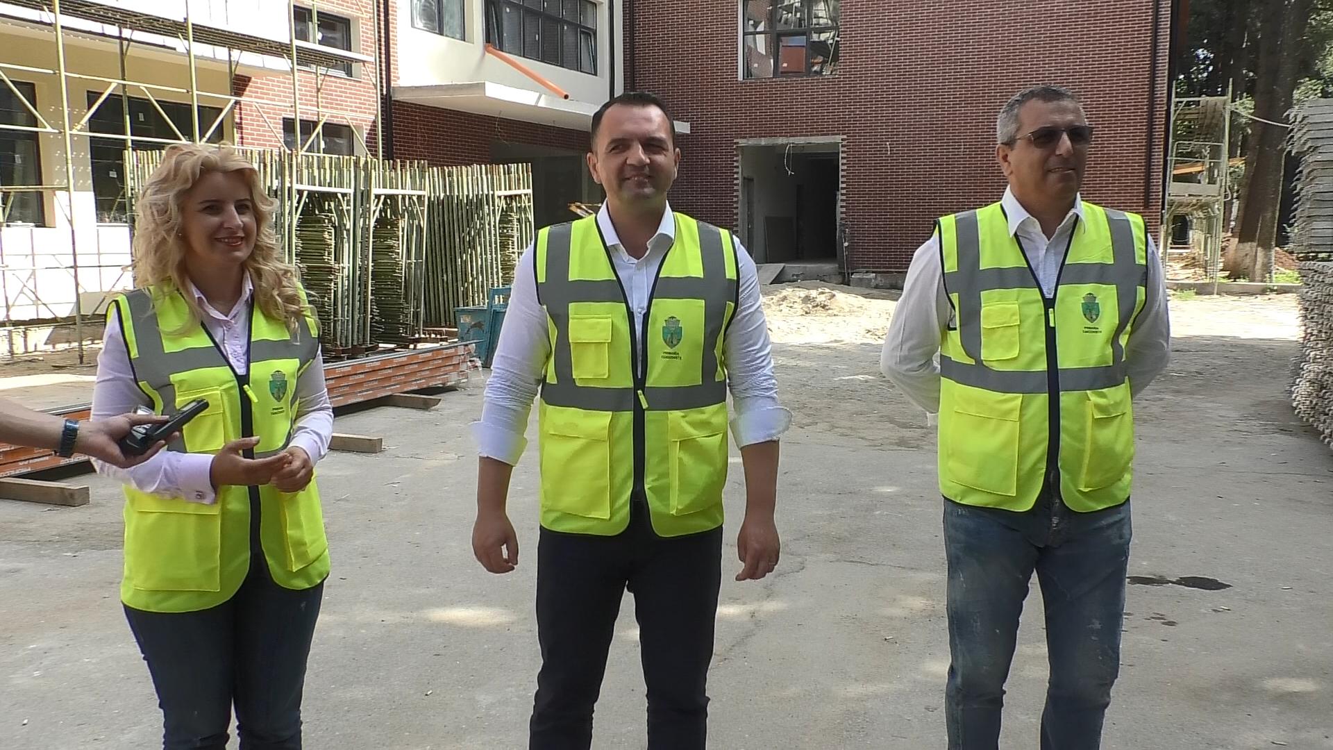 """Școala Gimnazială """"Mihai Viteazul"""" din Târgoviște este în plin proces de modernizare"""