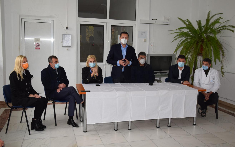 Sanatoriul TBC Moroeni,în atenția președintelui CJD, Corneliu Ștefan