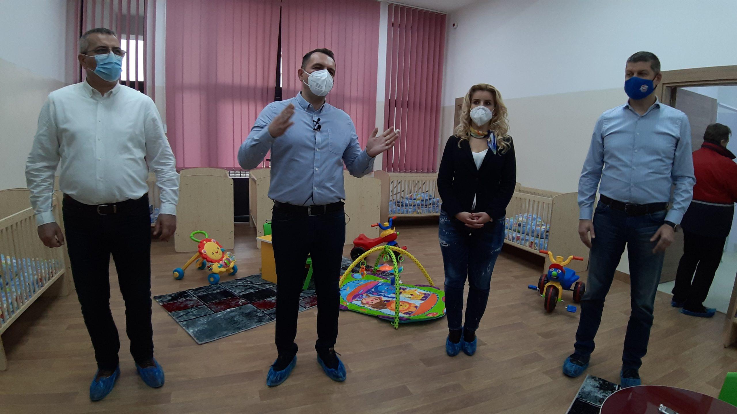 Luni, 23 noiembrie 2020, Creșa Nr. 14 din  Târgoviște, se redeschide