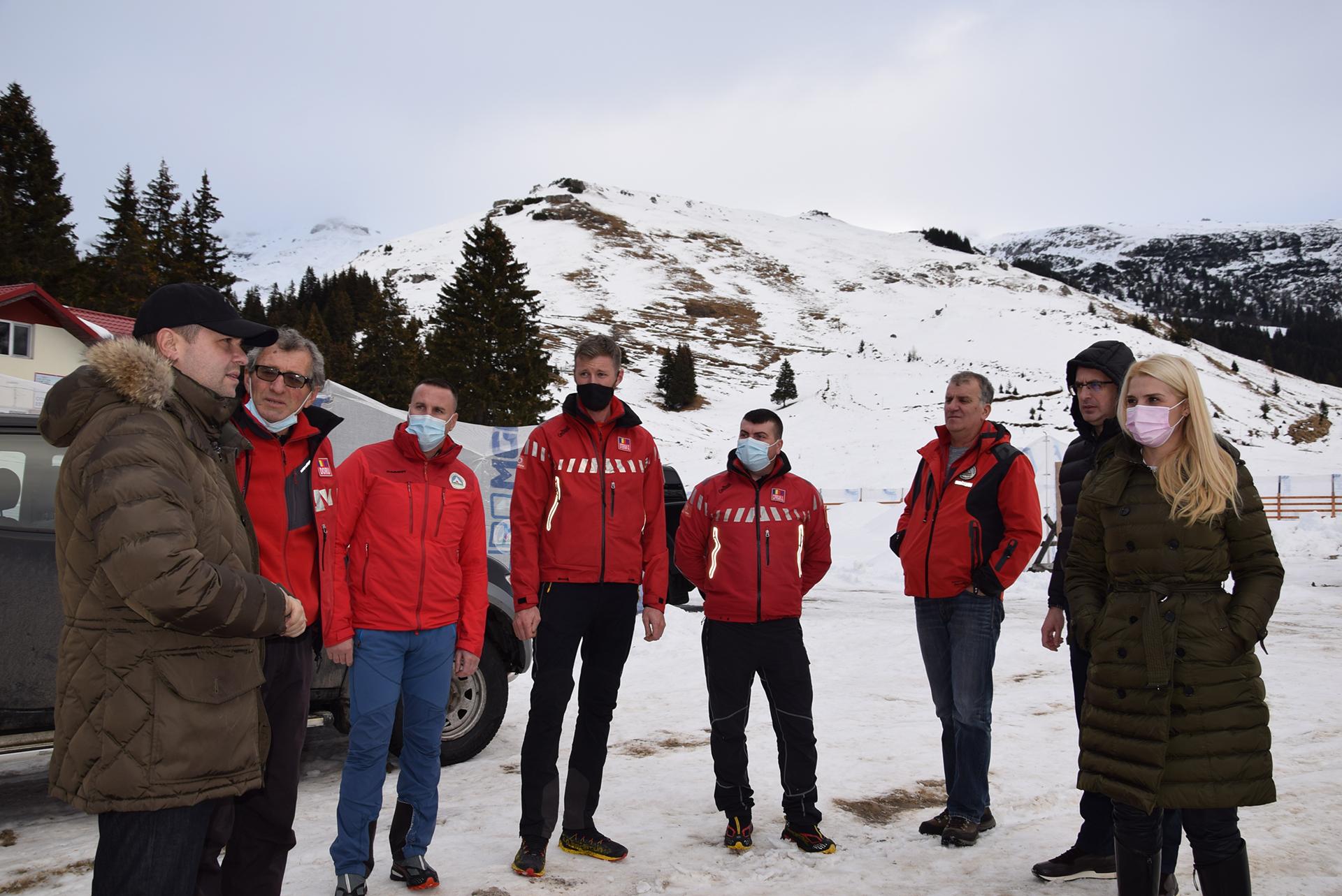 Pentru siguranța turiștilor, CJD vine în sprijinul Serviciului Salvamont- Salvaspeo Dâmbovița cu dotări importante