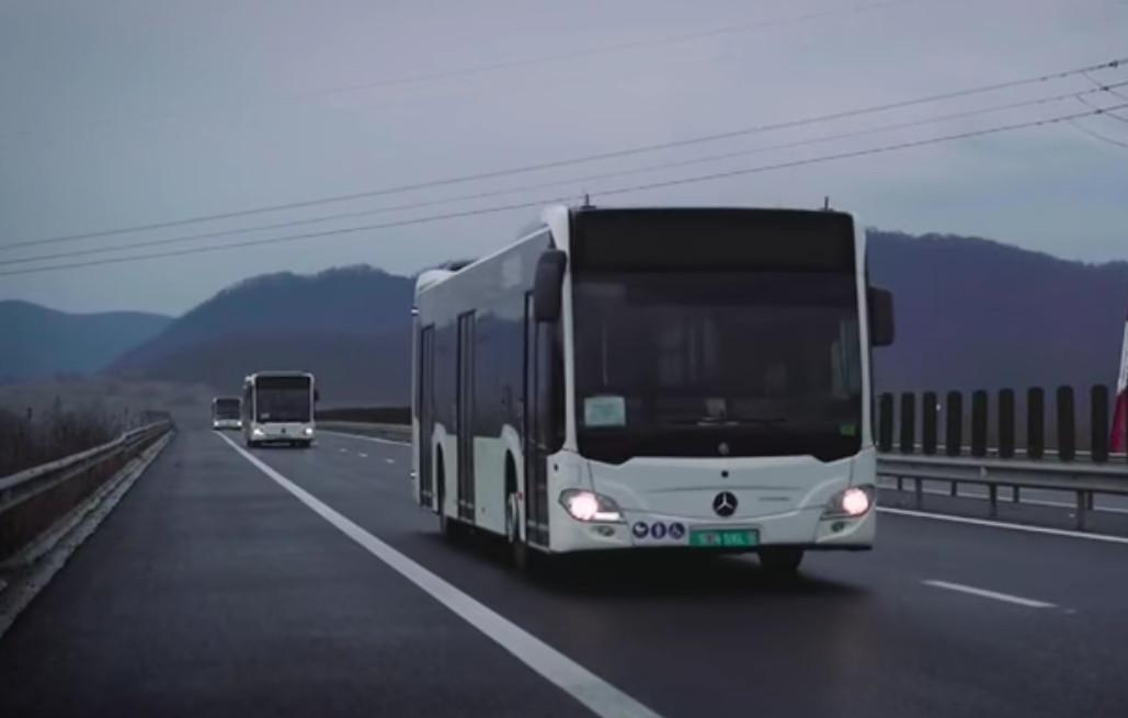 11 autobuze Mercedes-Benz Citaro Hybrid ajung săptămâna aceasta,  în Târgoviște