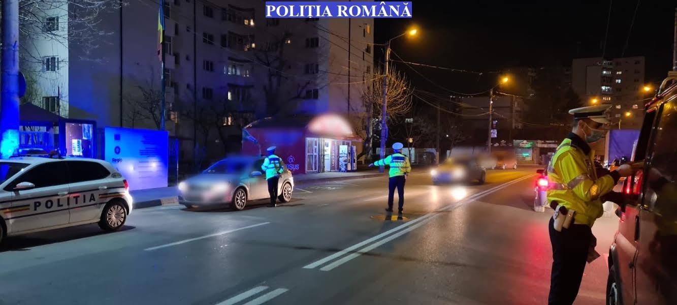 Activități desfășurate de polițiști, în județul Dâmbovița, pentru prevenirea infectării cu virusul Sars-CoV-2