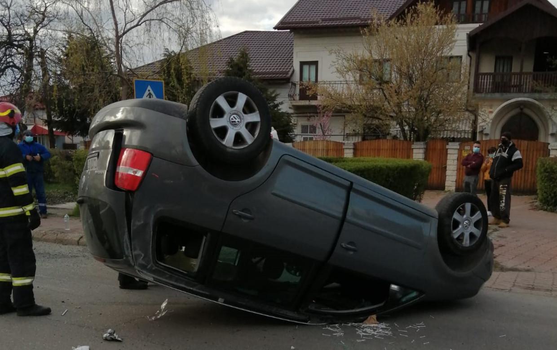 Accident rutier în zona Camerei de Comerț din Târgoviște