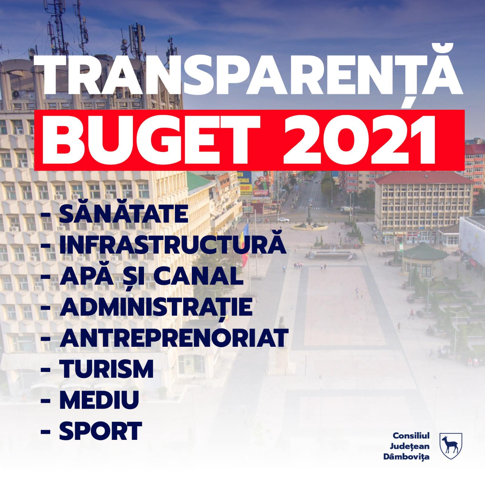 Corneliu Ștefan: 2021 este un an al investițiilor și al dezvoltării în Dâmbovița