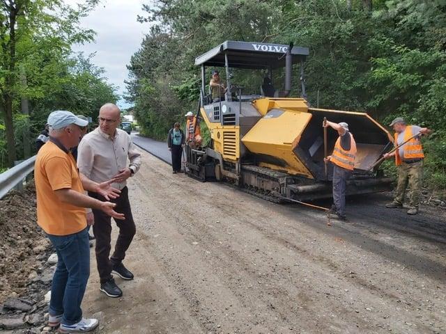 Pe DJ702E Ungureni – Mislea și DJ 720A Gheboaia – Finta, lucrări de reparaţii şi întreţinere