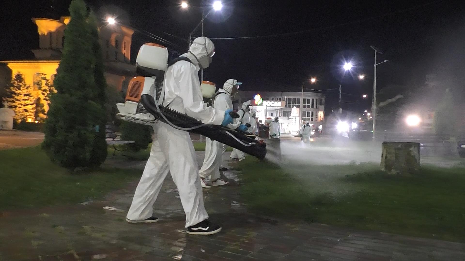 Au început acțiunile de dezinsecție la sol, în Târgoviște