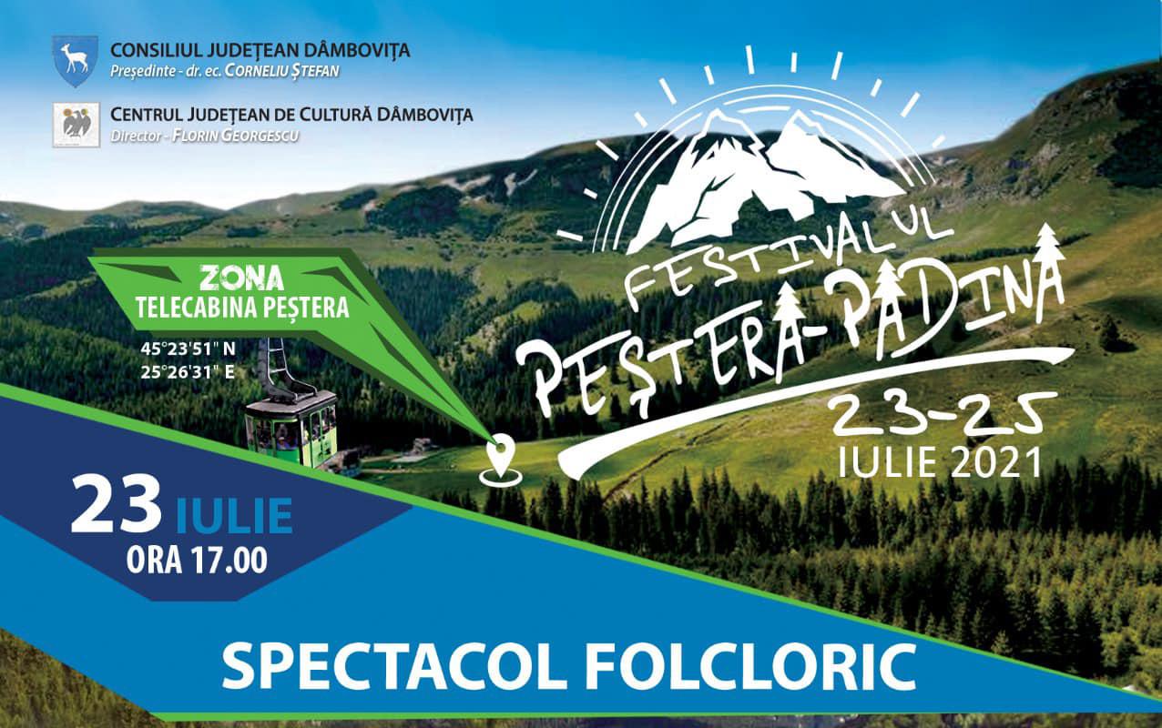Folclor, rock simfonic, muzică ușoară și de petrecere la Festivalul Peștera-Padina
