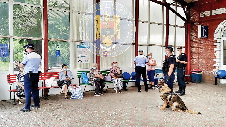 Amplă acțiune de control desfășurată în Gara Târgoviște