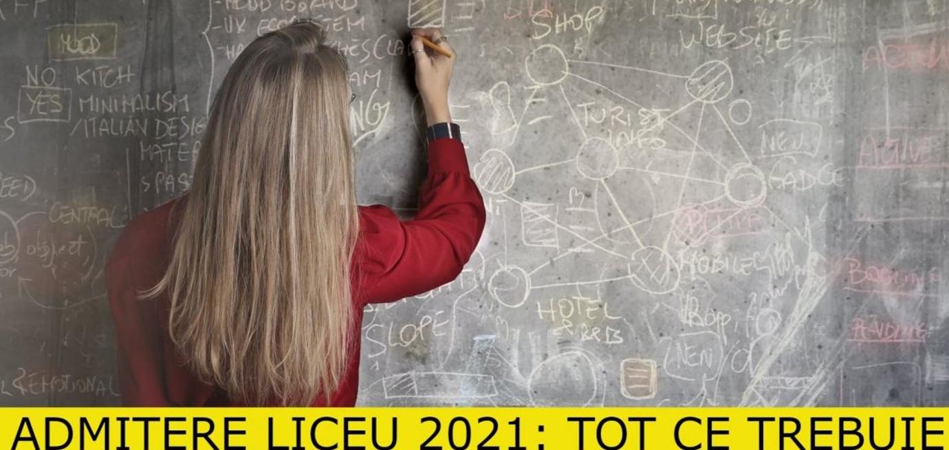 Admitere la liceu 2021, în perioada 16-22 iulie 2021, candidații și părinții lor pot completa fișele