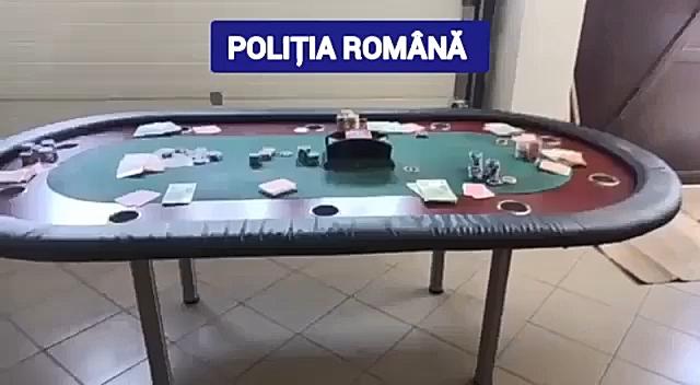 Cinci persoane au fost surprinse în flagrant delict în timp ce ar fi practicat ilegal jocuri de noroc, utilizând o masă de tip cazinou, fise și jetoane, valoarea potului fiind de 8.500 de euro