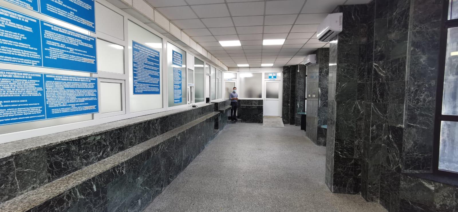Ghișeele Serviciului Pașapoarte Dâmbovița, modernizate și repuse la dispoziția publicului