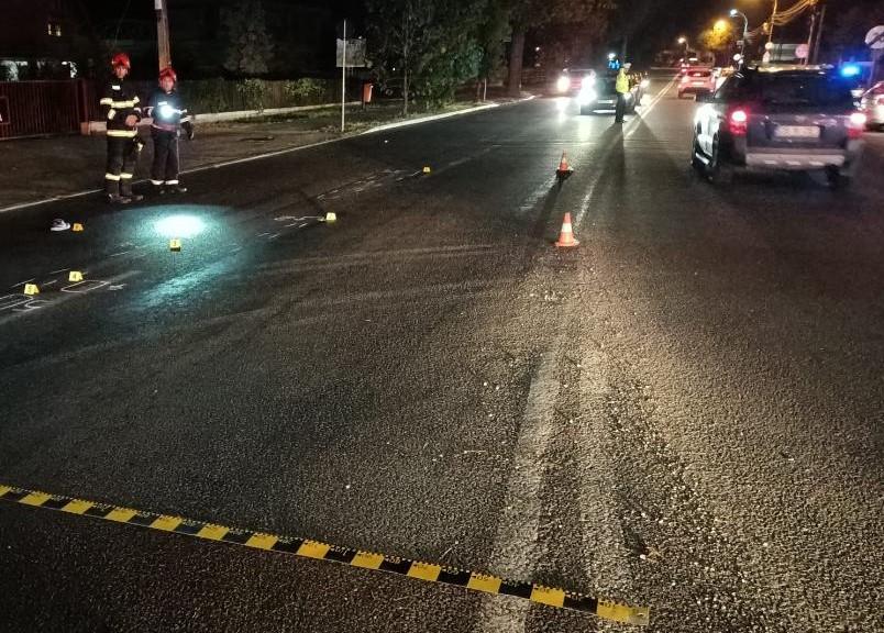 Motociclist accidentat mortal pe Aleea Sinaia